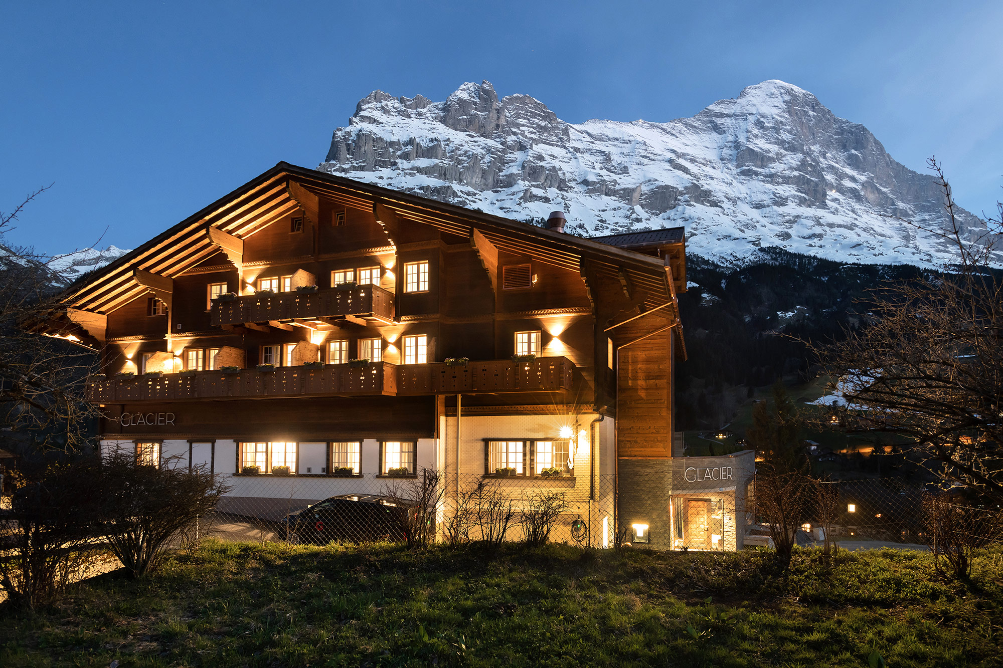 Hotel photography grindelwald swiss