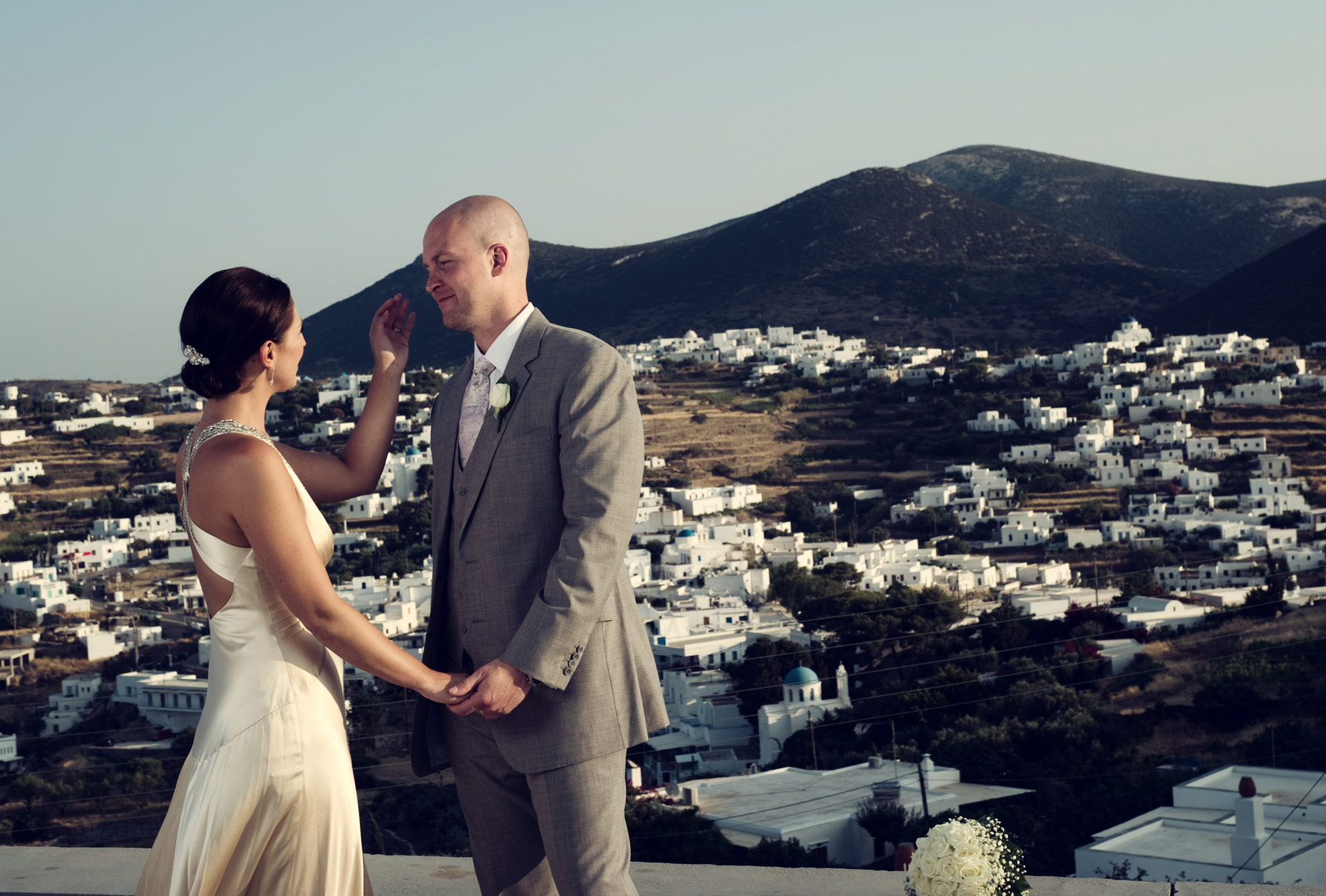 sifnos wedding shoot