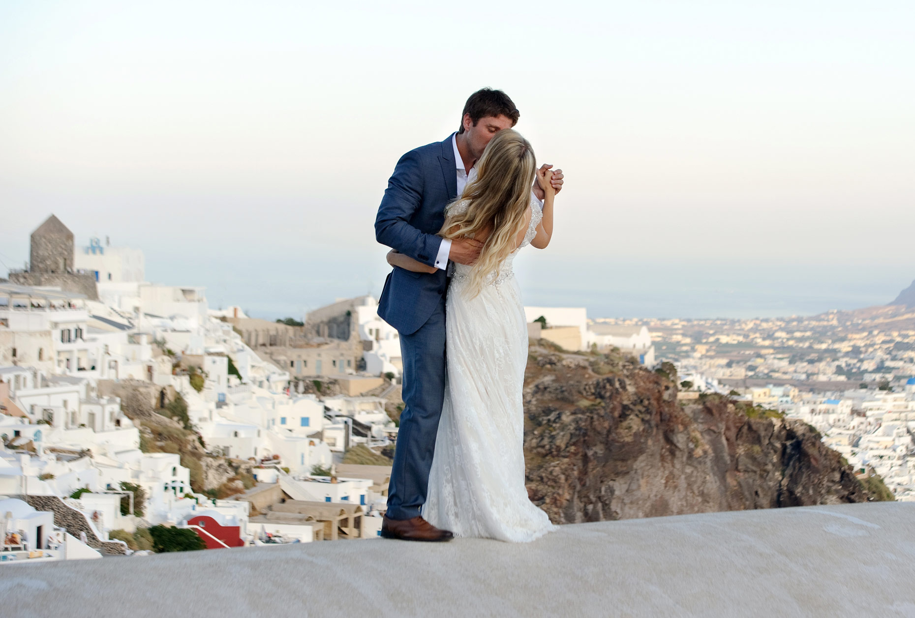 location shoot santorini