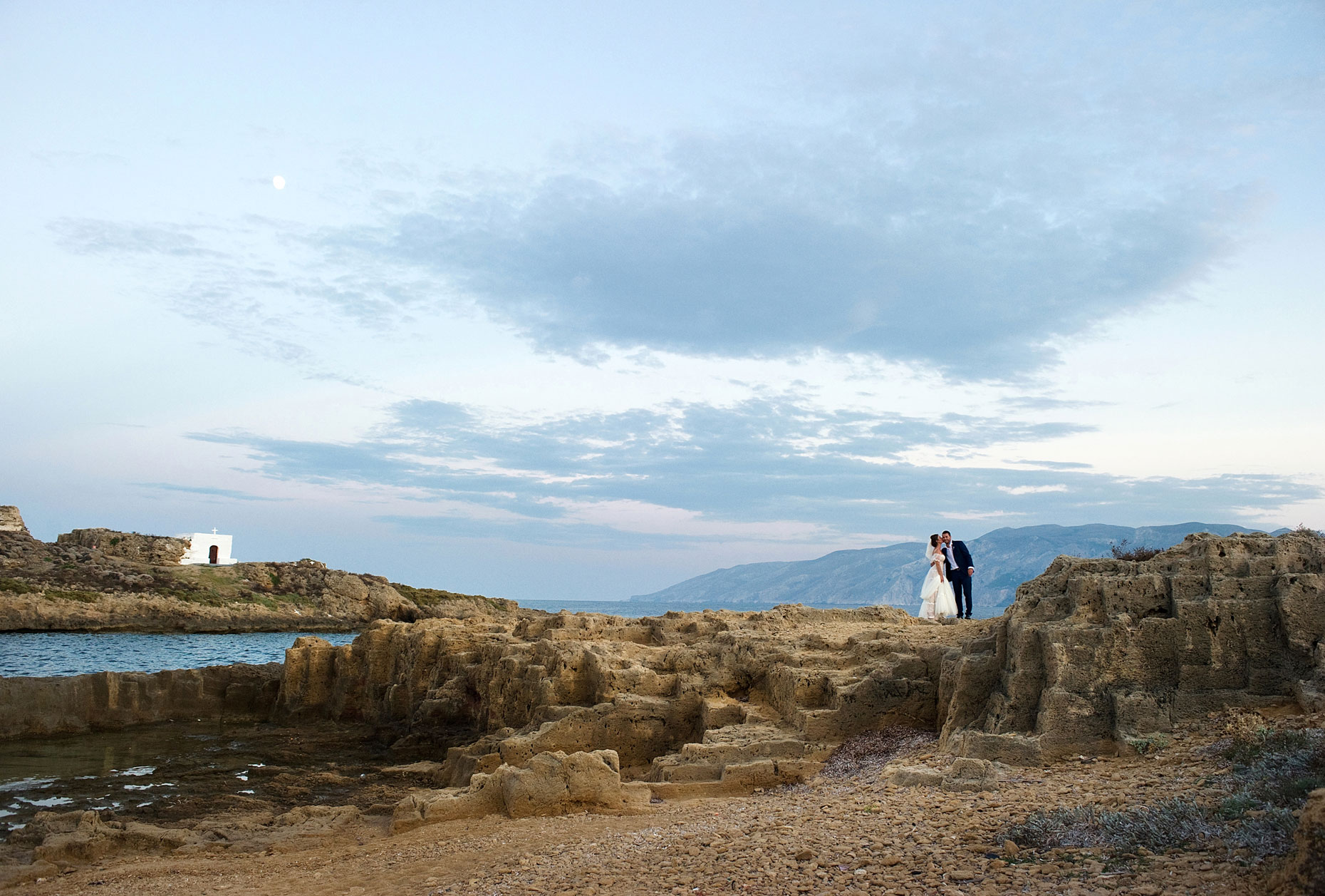 skyros wedding photo