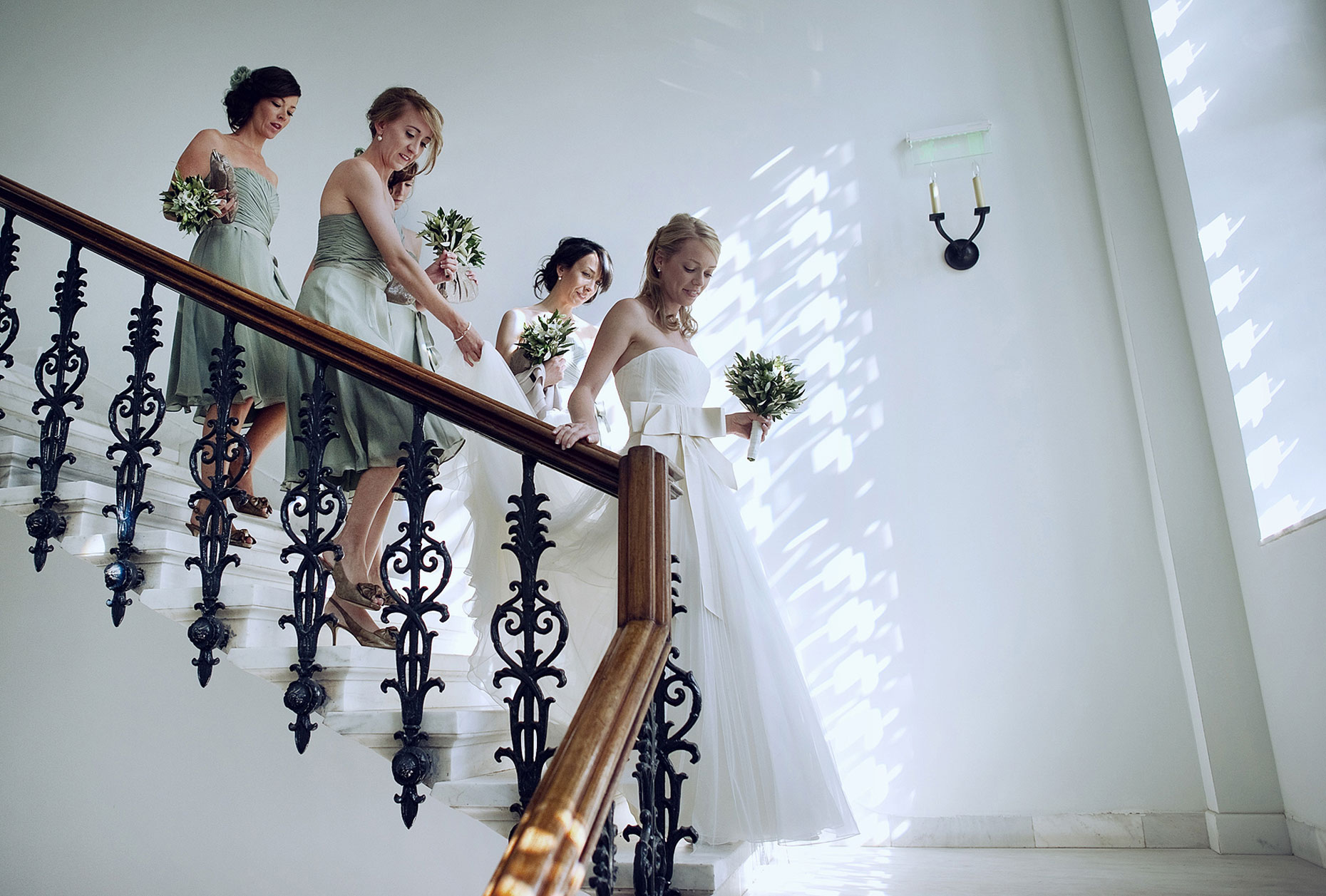 spetses wedding photo