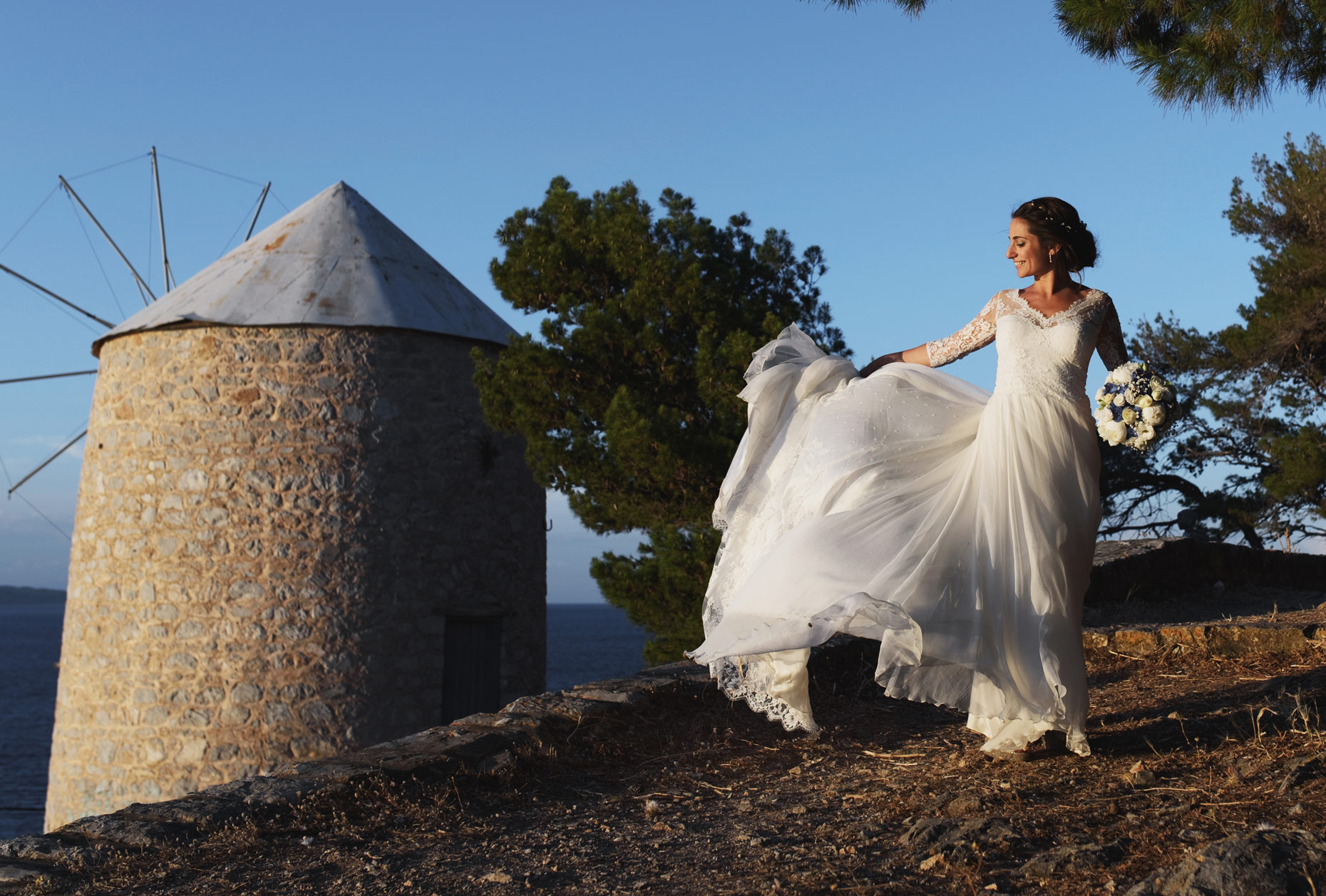 wedding in Hydra island greece