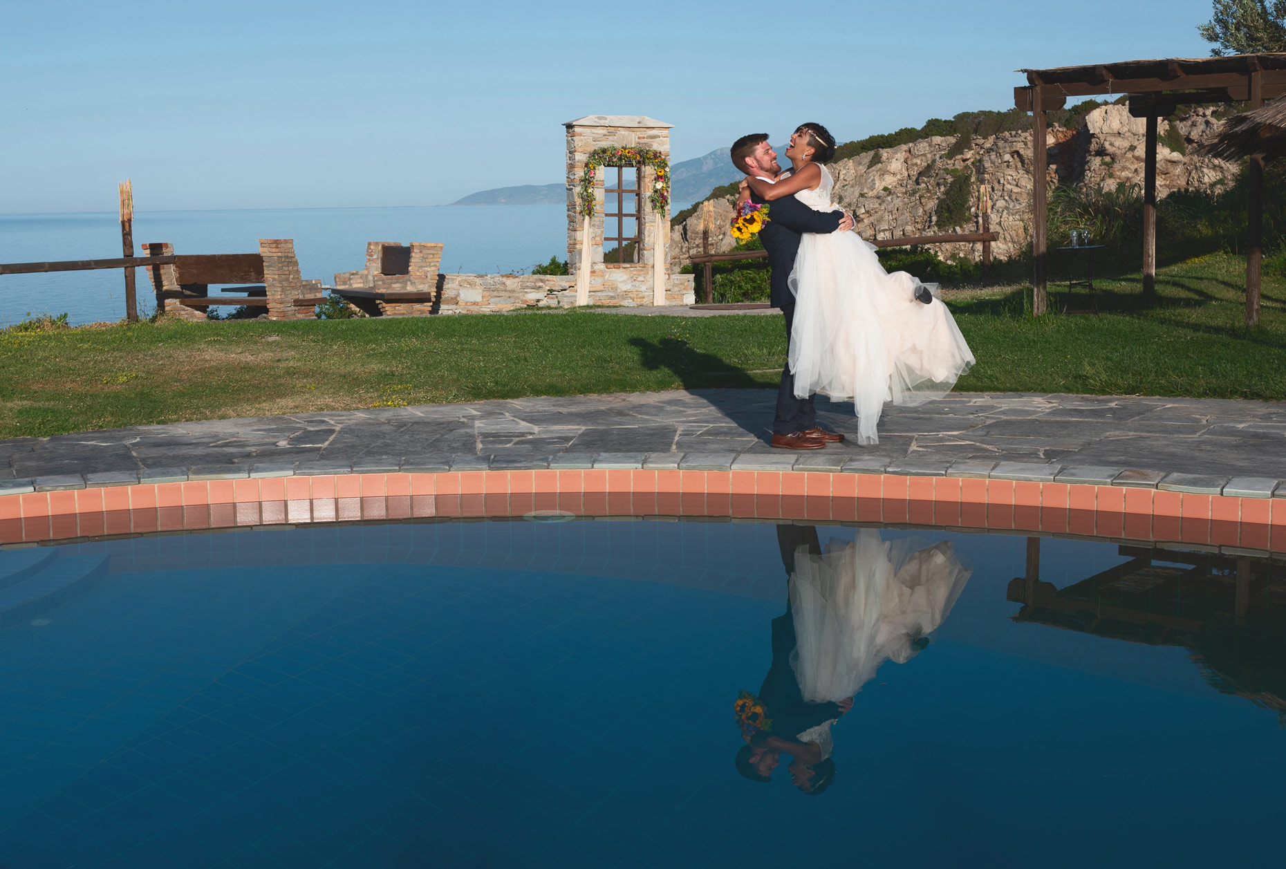 destination wedding photographer Greece