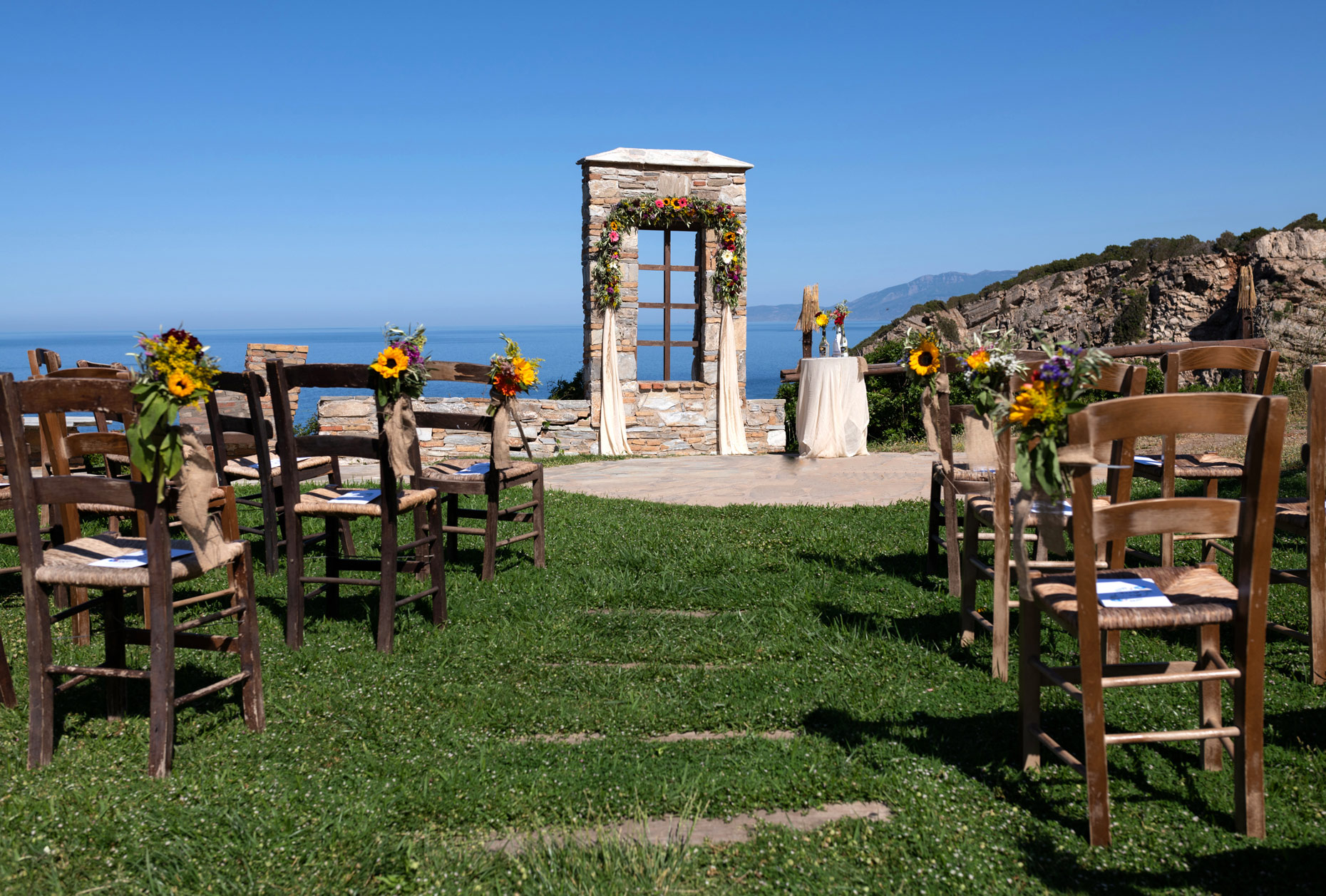 Villa delenia wedding | Wedding in Evia
